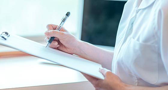 正確に審査、診断することで患者様に適した治療を行います